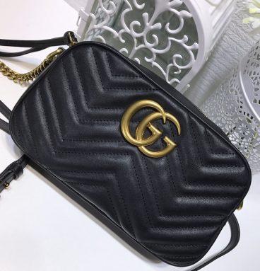 Gucci. Marmont GG Camera Bag Mini Shoulder Bag