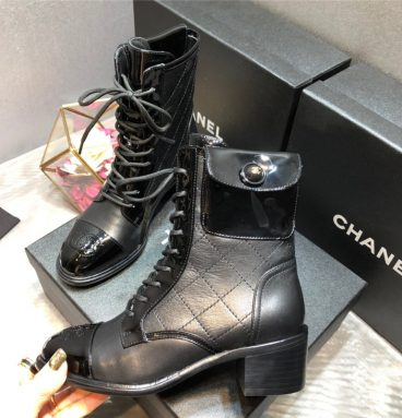 chanel martin boots