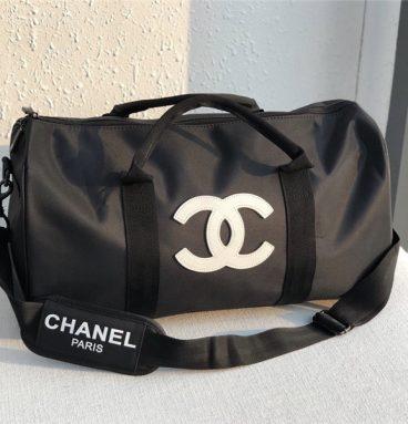 Chanel travel bag fitness bag
