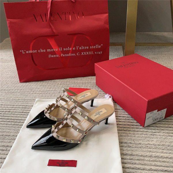 Valentino heels Rockstud Leather Mule