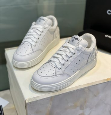 chanel casual shoes women sneakers