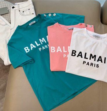 balmain t shirt women