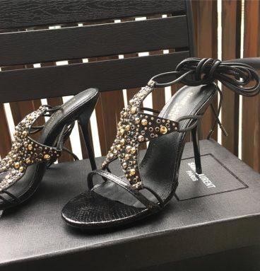 ysl heel sandals