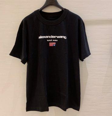 alexander wang t shirt black