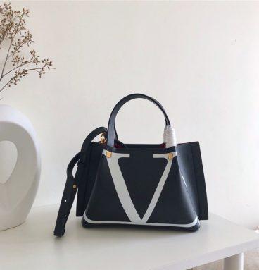 Valentino Garavani Escape Calfskin Shopping Bag