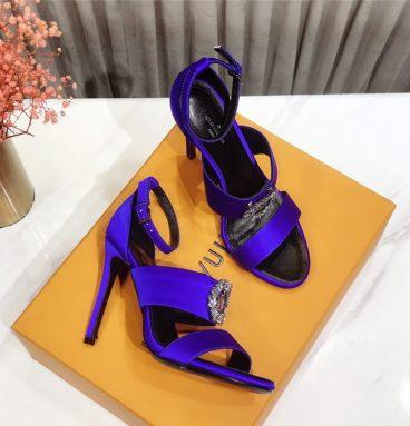 2020 LOUIS VUITTON LVheels sandals purple