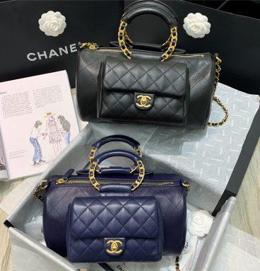 Bowling Bags Handbags CHANEL