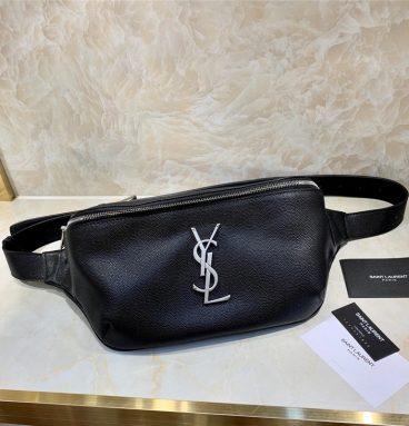 ysl classic leather belt bag