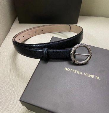 bottega veneta belt women black