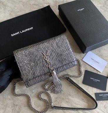 ysl classic snake tassel bag