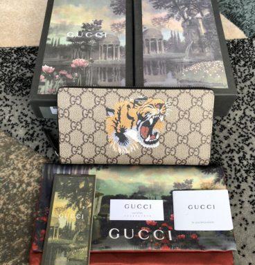 gucci wallet men tiger