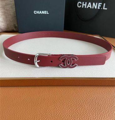 chanel belt women 2.5cm