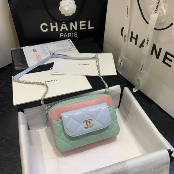 2 in 1 chain bag chanel