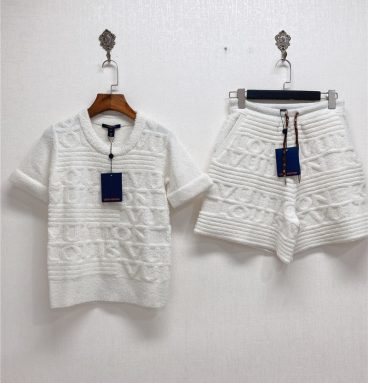 lv dresses set womens replica clothing