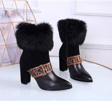 fendi ankle booties replica shoes