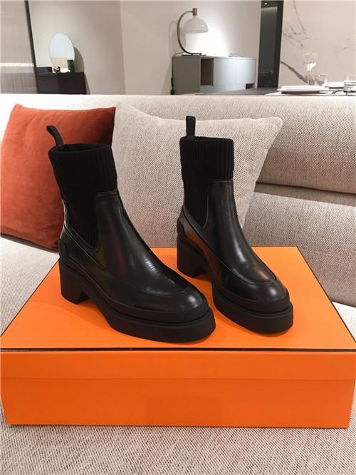 hermes booties women replica shoes