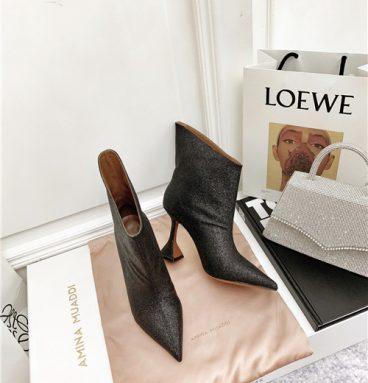 amina muaddi boots replica shoes