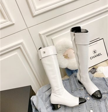 chanel long boots replica shoes