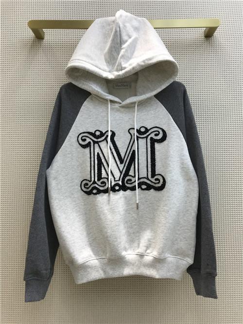 max mara hooded sweatshirt