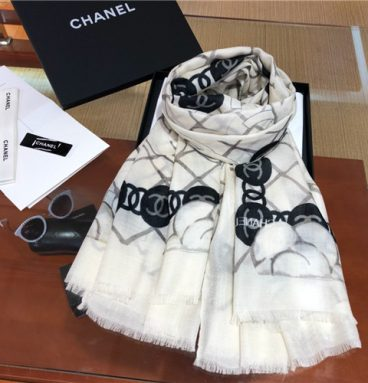 chanel cashmere scarf scarves