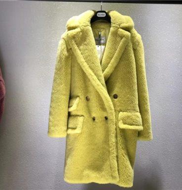 maxmara teddy coat