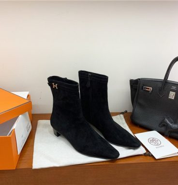 hermes ankle boots