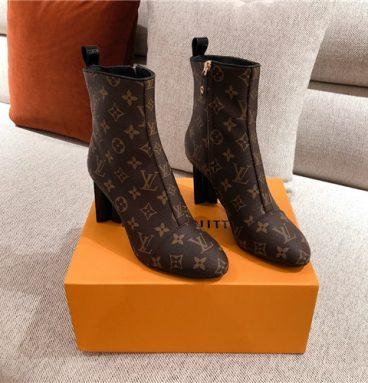 louis vuitton lv ankle boots