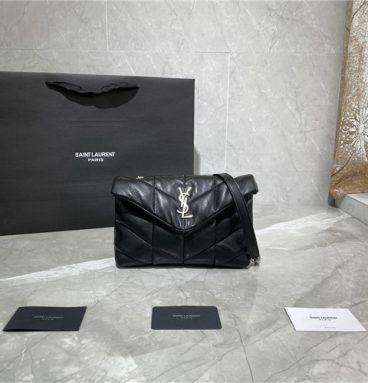 ysl loulou puffer mini bag black