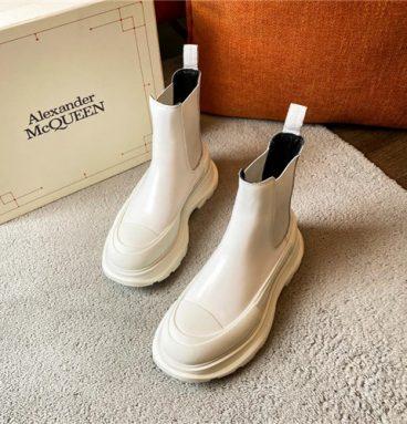 alexander mcqueen boots womens