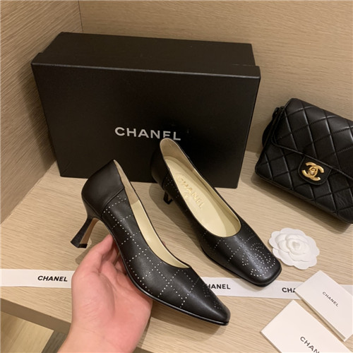 chanel high heels sandals
