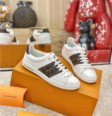 louis vuitton frontrow sneaker white