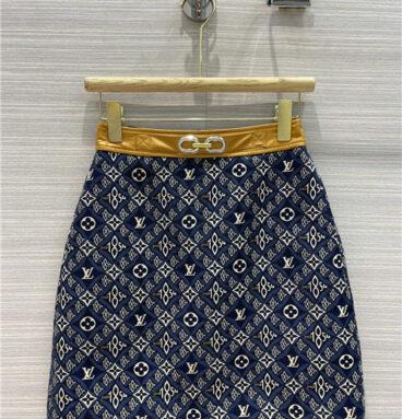 louis vuitton since 1854 skirt