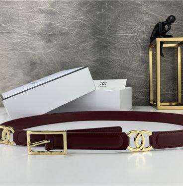 Women's chanel belt