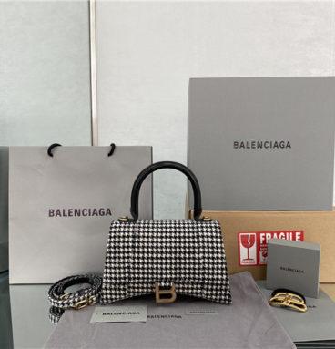 balenciaga hourglass bag large