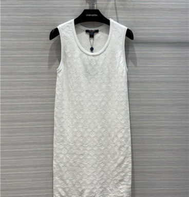 louis vuitton lv vest dress