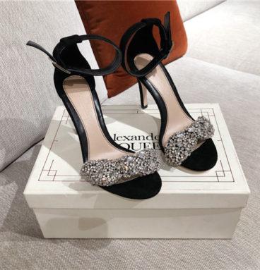 alexander mcqueen high heel sandals