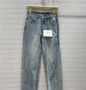 alexander wang high waist jeans