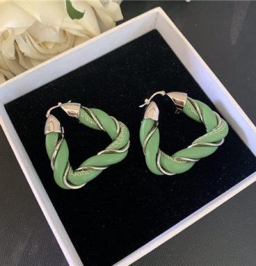 bottega veneta bv triangle earrings