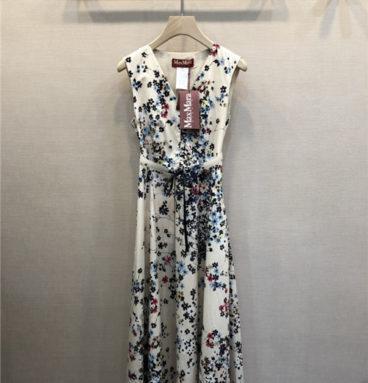 maxmara sleeveless dress