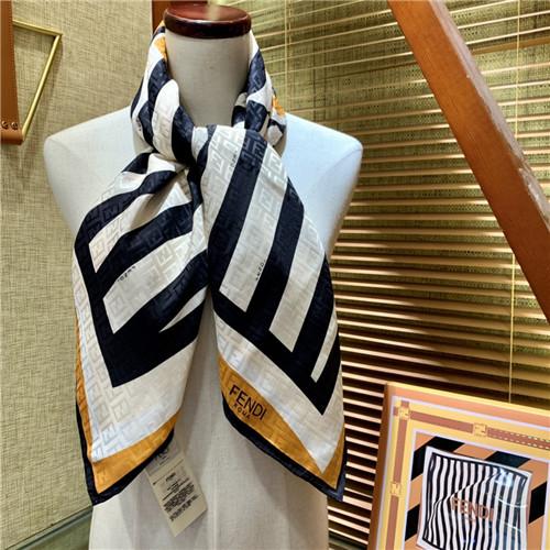 fendi silk scarf womens