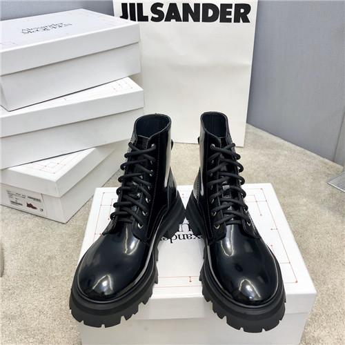 alexander mcqueen high top boots