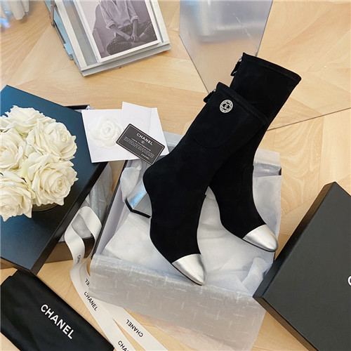 chanel ankle boots womens