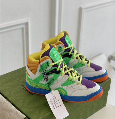 gucci basket high top sneakers