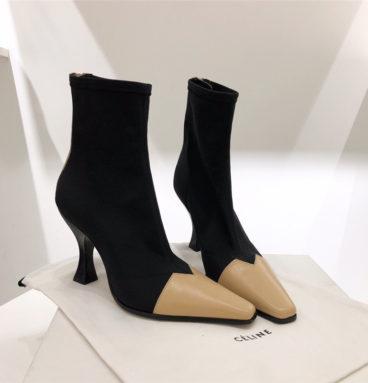celine high heel booties