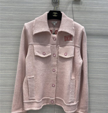chanel knitted cardigan jacket