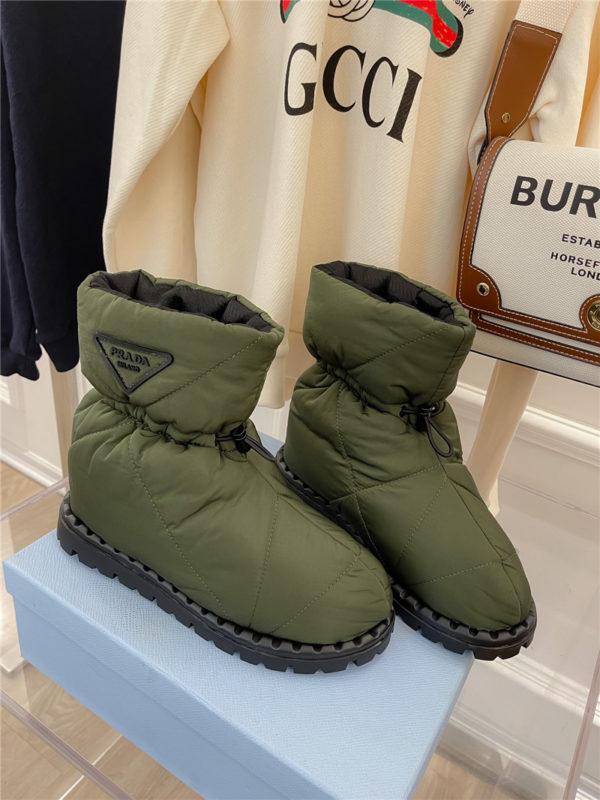 prada down snow boots