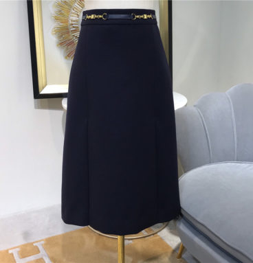 celine high waist skirt