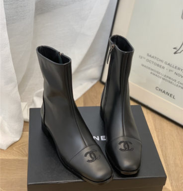 chanel vintage ankle boots